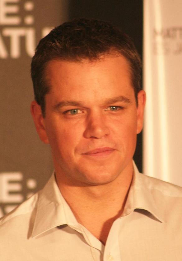 Coupe de cheveux Ivy League sur Matt Damon